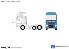 MAN TGX 6x2 Tractor