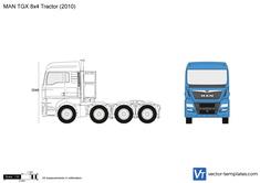 MAN TGX 8x4 Tractor