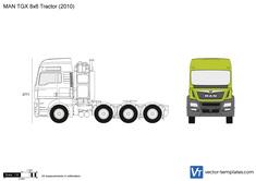 MAN TGX 8x6 Tractor