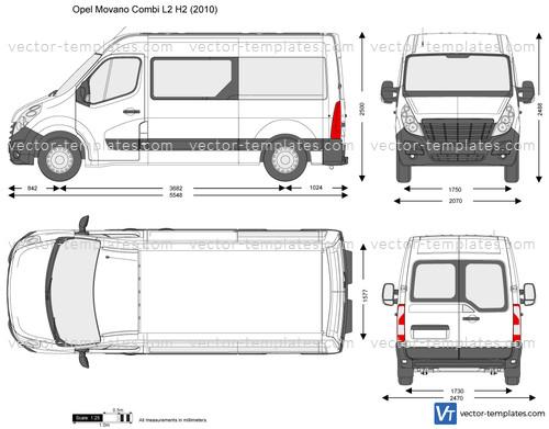 Opel Movano Combi L2 H2
