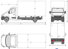 Opel Movano Box Van L4H1 20m3