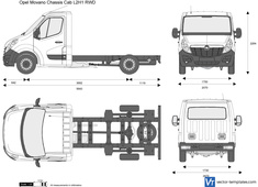 Opel Movano Chassis Cab L2H1 RWD
