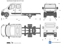 Opel Movano Double Cab L3H1 Dual