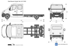 Opel Movano Double Cab L3H1 RWD
