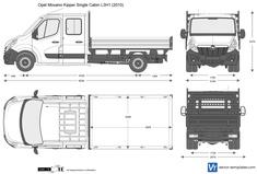 Opel Movano Kipper Single Cabin L3H1