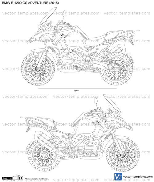Templates Motorcycles Bmw Bmw R 1200 Gs Adventure