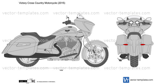 Victory Cross Country Motorcycle