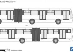 Busscar Articulado S3