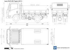 Isuzu NLR 200 Tipper