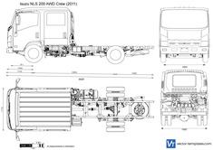 Isuzu NLS 200 AWD Crew