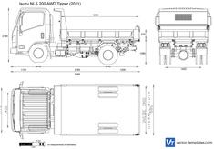 Isuzu NLS 200 AWD Tipper