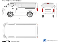 Nissan NV350 Panel Van SWB Low
