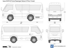 Isuzu NHR 55 Prona Passenger Deluxe 5 Pintu 12 seat