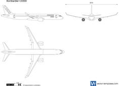 Bombardier CS500