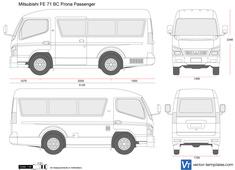 Mitsubishi FE 71 BC Prona Passenger