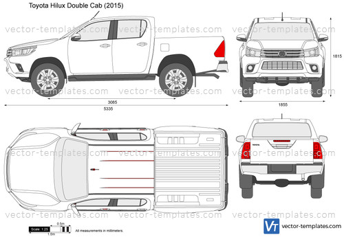 Templates Cars Toyota Toyota Hilux Double Cab