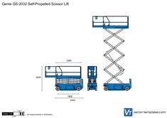 Genie GS-2032 Self-Propelled Scissor Lift