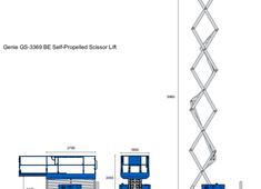 Genie GS-3369 BE Self-Propelled Scissor Lift