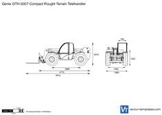 Genie GTH-3007 Compact Rought Terrain Telehandler