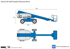 Genie S-60 Self-Propelled Telescopic Boom