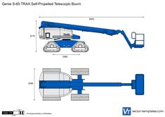 Genie S-65 TRAX Self-Propelled Telescopic Boom