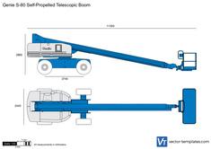 Genie S-80 Self-Propelled Telescopic Boom