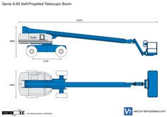 Genie S-85 Self-Propelled Telescopic Boom