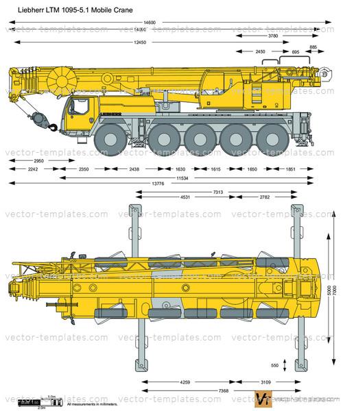 Liebherr LTM 1095-5.1 Mobile Crane