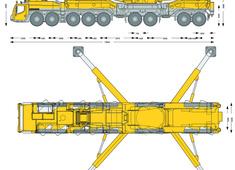 Liebherr LTM 11200-9.1 Mobile Crane