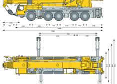 Liebherr LTM 1160-5.2 Mobile Crane