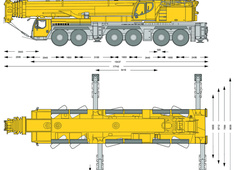 Liebherr LTM 1350-6.1 Mobile Crane