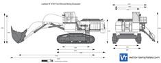 Liebherr R 9150 Front Shovel Mining Excavator