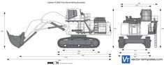 Liebherr R 9200 Front Shovel Mining Excavator