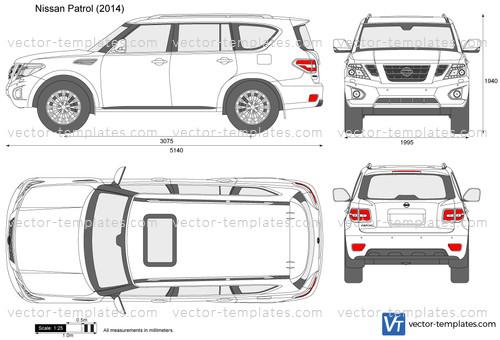 Templates Cars Nissan Nissan Patrol