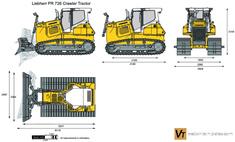 Liebherr PR 726 Crawler Tractor