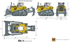 Liebherr PR 776 Crawler Tractor