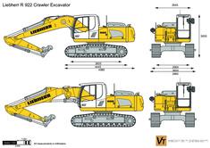 Liebherr R 922 Crawler Excavator