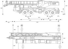Grove AT700D All Terrain Hydraulic Crane