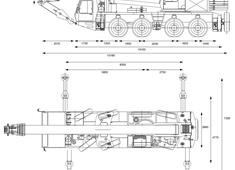 Grove GMK4085B Crane