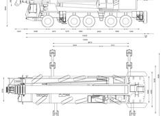 Grove GMK5160 Crane