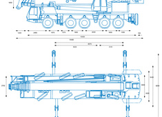 Grove GMK5175 Crane