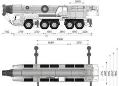 Grove GMK5180-1 Crane