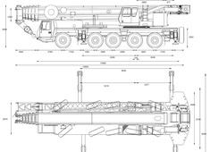 Grove GMK5240 Crane