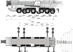 Grove GMK5250L Crane