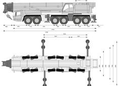 Grove GMK6400 Crane