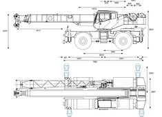 Grove RT640C Rough Terrain Hydraulic Crane
