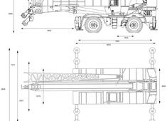 Grove RT880 Rough Terrain Crane