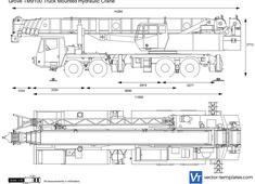 Grove TM9100 Truck Mounted Hydraulic Crane