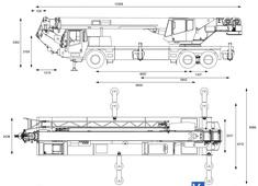 Grove TMS540 Truck Mounted Hydraulic Crane