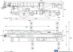 Grove TMS700B Truck Mounted Hydraulic Crane